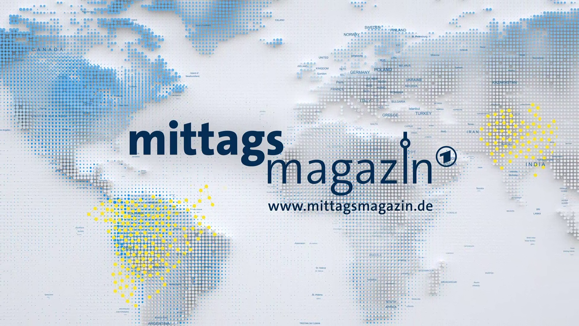 ARD Mittagsmagazin now from the middle of Berlin